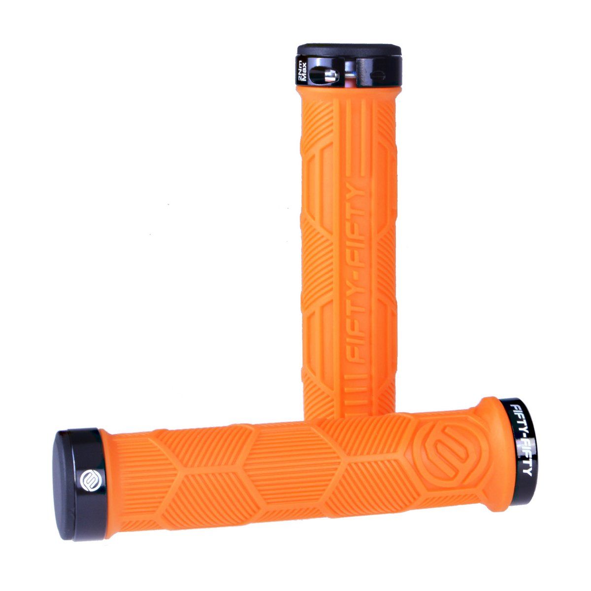 grip_orange DUAL LOCK-ON GRIPS